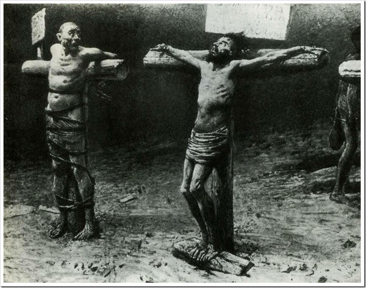Рабыни на кресте 2 фотография
